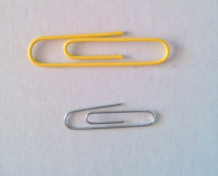Paper Clip Mini Hangers for Barbie Clothes