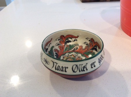 highly decorated bowl
