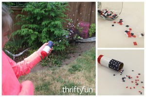 Making a Paper Tube Confetti Launcher