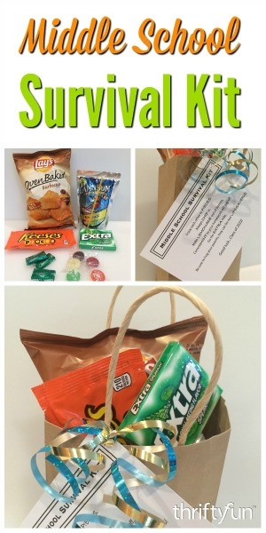 Making A Middle School Survival Kit Thriftyfun