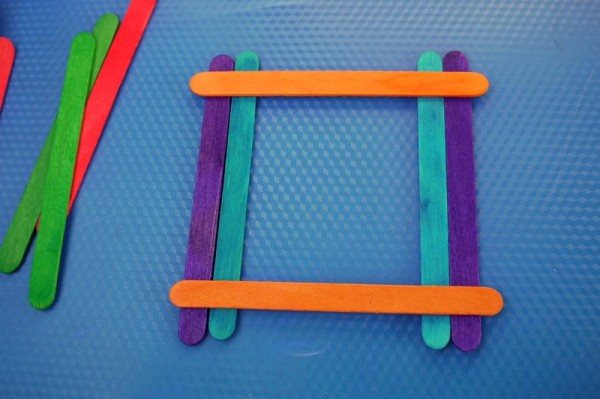 Making A Popsicle Stick Picture Frame Thriftyfun
