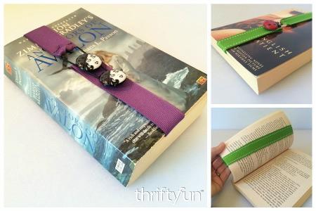 Making an Adjustable Ribbon Bookmark