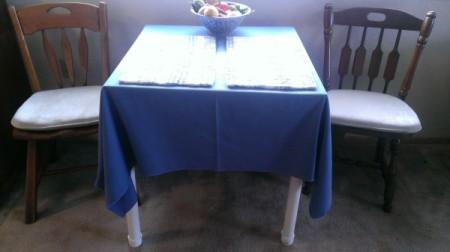 Raising Table Legs