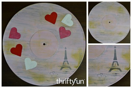 Making a Vinyl Record Underplate
