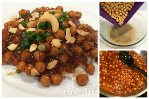 Kung Pao Chickpeas Recipe
