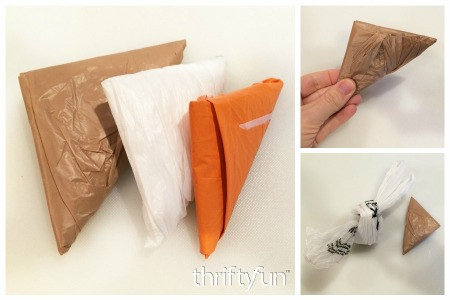 Folding Plastic Grocery Bags