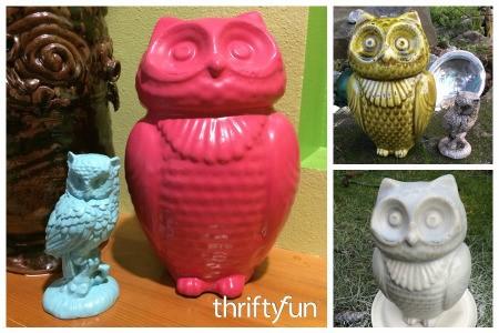 Revamping Thrift Store Figurines
