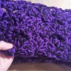 Cozy Fan Stitch Crochet Infinity Scarf