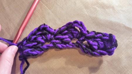 Cozy Fan Stitch Crochet Infinity Scarf