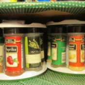Bottle Carousels for Organizing Spices
