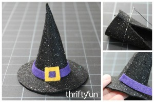 Making a Mini Felt Witch Hat