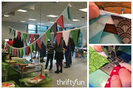 Making a Birthday Pennant Banner