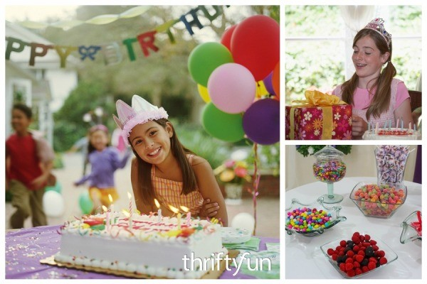 13th birthday party ideas for girls thriftyfun