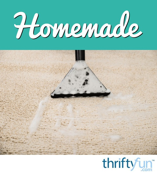 Homemade Carpet Shampoo Recipes Thriftyfun