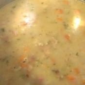 Potato, Cauliflower and Carrot Soup