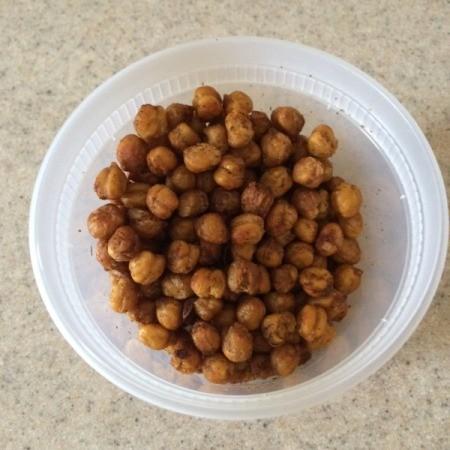 Crunchy Chickpea Snacks
