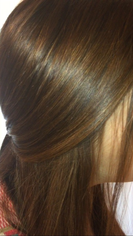 Dyeing Hair Back to Natural Color
