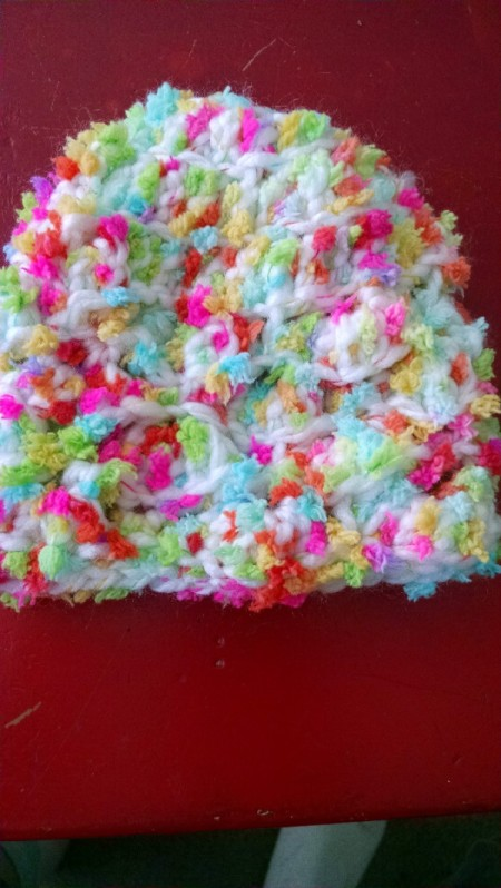Shell Crochet Infant Hat