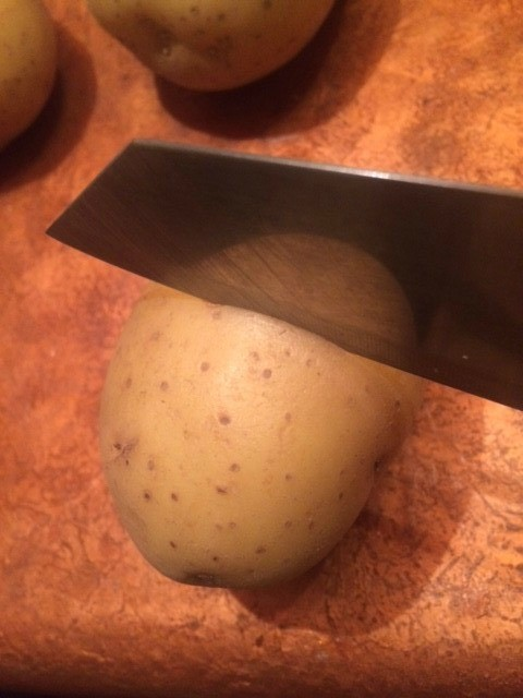 Easiest Potato Peeling
