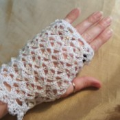 Old Fashioned Lace Gloves