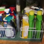 Organizing my Cabinets