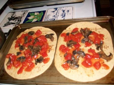 Flatbread Pizza/Calzone