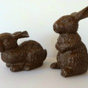 Faux Chocolate Bunnies