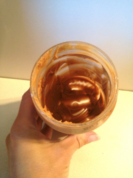 Removing the Last of the Peanut Butter
