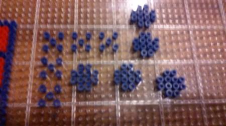 Perler Bead Tic-Tac-Toe