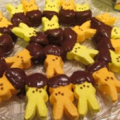 Easter Chocolate Dipped Peeps