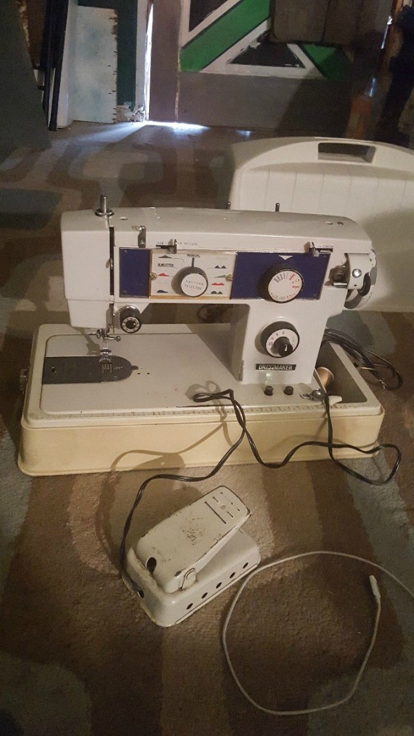 Finding Sewing Machine Manuals ThriftyFun Custom Marvel Sewing Machine