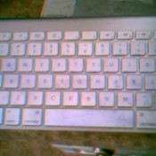 Permanent Marker On Apple Keyboard