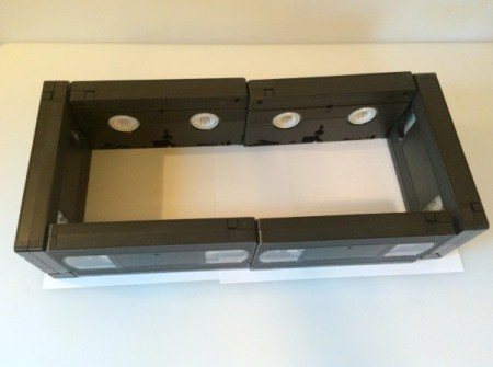 VHS Tape Container