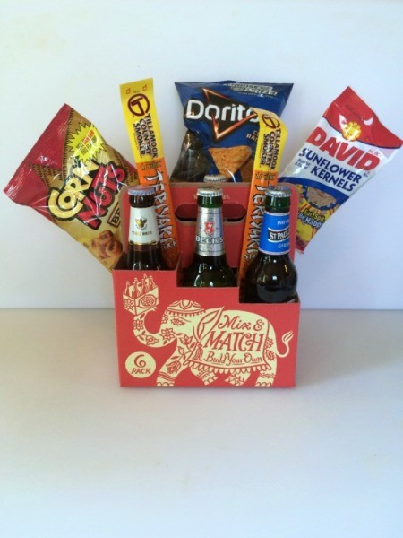 Beer and Snacks Bouquet