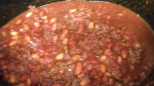 Pot of Garden Style Chili