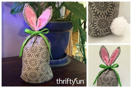 Making a Fabric Bunny Doorstop