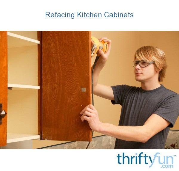 Kitchen Cabinets Reface Or Replace: Refacing Kitchen Cabinets