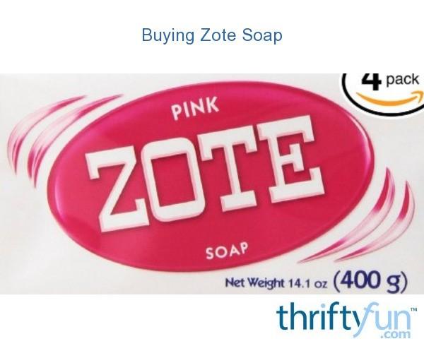 Buying Zote Soap | ThriftyFun
