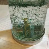 Jar Snow Globe - completed jar