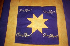 Making Crown Royal Bag Quilts | ThriftyFun : crown royal bag quilt - Adamdwight.com