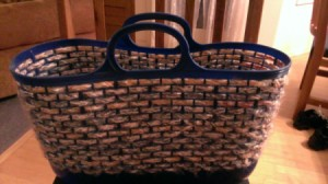 finished basket