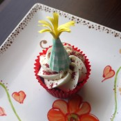Party Hat Cupcake Topper