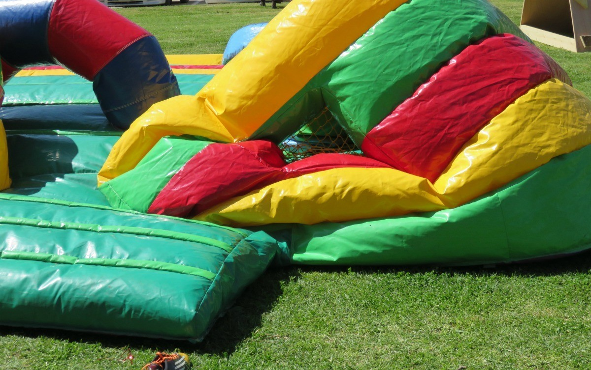 Repairing An Inflatable Bounce House Thriftyfun