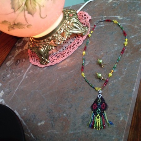 Avoid Hanging Beaded Necklaces