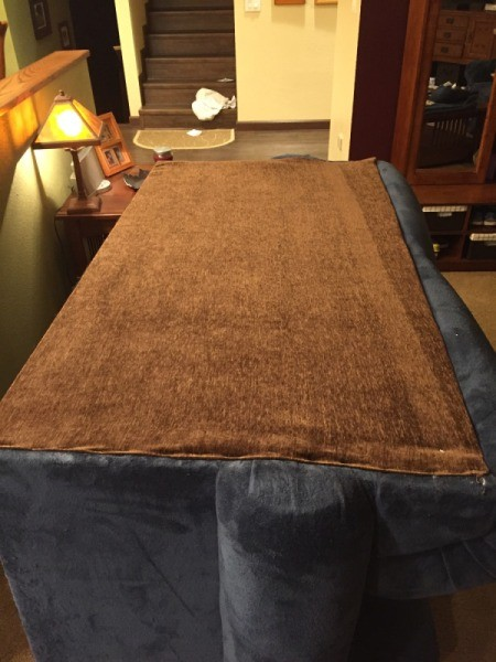 Repairing Cat Scratched Couch