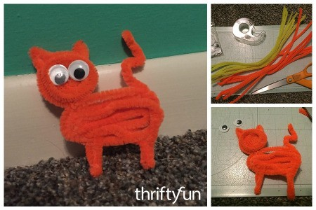 Making a Pipe Cleaner Cat