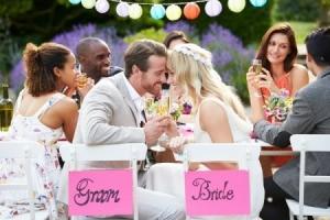 A wedding reception.