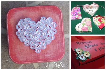 Making a Valentine's Day Gift Box