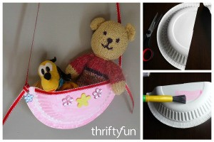 Making a Child's Paper Plate Shoulder Bag