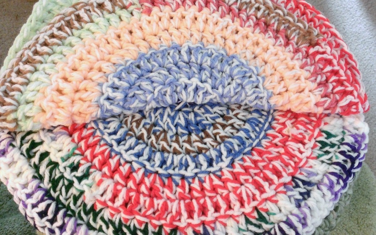 Cat Mat Free Crochet Pattern (With images) | Crochet patterns ... | 750x1200